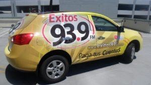 Car Wraps Suv Graphics Exitos Radio Station Nissan Rogue
