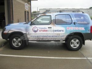 Car Wraps Suv Graphics Expedia Cruise Centers Nissan Exterra ECC