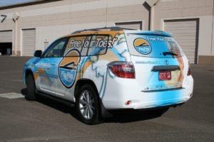 Car Wraps Suv Graphics Flip Flop Shops Toyota Highlander FFSgg