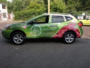 Car Wraps Suv Graphics Food Nissan Rogue EGP