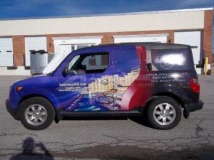 Car Wraps Suv Graphics Hard Rock Honda Element HAR MS