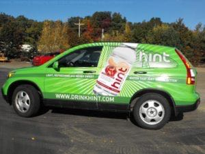 Car Wraps Suv Graphics Hint Drink Honda CRV TGH2