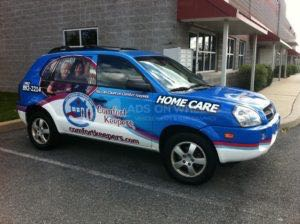 Car Wraps Suv Graphics Home Care Hyundai Tuscon CFK