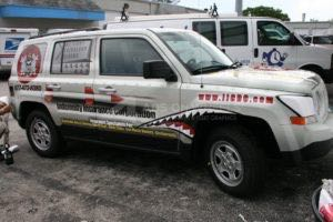 Car Wraps Suv Graphics IIC Jeep Patriot