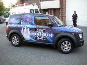 Car Wraps Suv Graphics Istanblue Vodka Honda Element IST