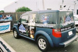 Car Wraps Suv Graphics Ivy Honda Element IVE