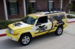 Car Wraps Suv Graphics Jeep Commander XTT