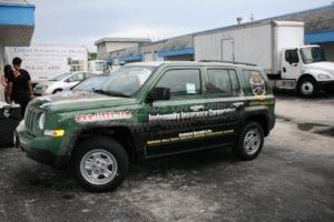 Car Wraps Suv Graphics Jeep Patriot IIC