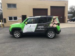 Car Wraps Suv Graphics Kagaroo Smiles Jeep Renegade Dental