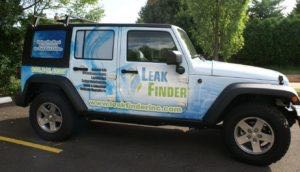 Car Wraps Suv Graphics Leak Finder Jeep Wrangler LFI