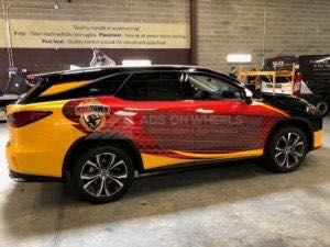 Car Wraps Suv Graphics Lexus RX L TOL2