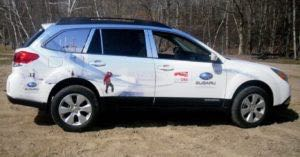 Car Wraps Suv Graphics Mount Washington Subaru Outback MTW