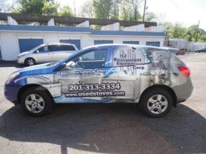 Car Wraps Suv Graphics NJ Restaurant Equipment Nissan Rogue NJR