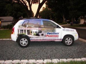 Car Wraps Suv Graphics Protect Painters Hyundai Sante Fe Ppd