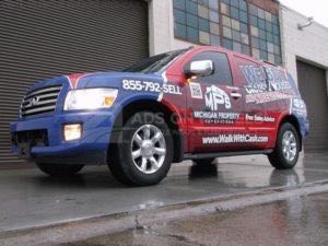 Car Wraps Suv Graphics Real Estate Houses Infinity QX