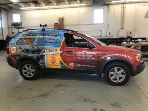 Car Wraps Suv Graphics Real Estate Volvo XC90