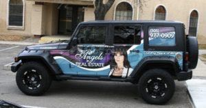 Car Wraps Suv  Graphics Real Estate Jeep Wrangler AIR