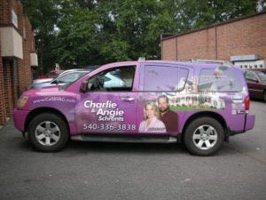 Car Wraps Suv Graphics Real Estate Nissan Armada BSR