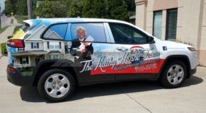 Car Wraps Suv Graphics Remax Real Estate Jeep Cherokee Qcs