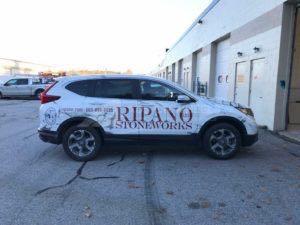 Car Wraps Suv Graphics Ripano Stoneworks Honda CRV