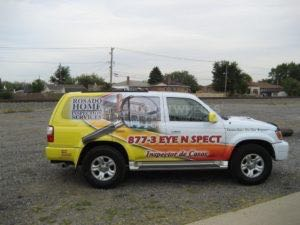 Car Wraps Suv Graphics Rosado Home Inspection Toyota 4Runner RHI