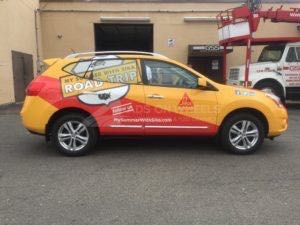 Car Wraps Suv Graphics SIKA Nissan Rogue SIKA