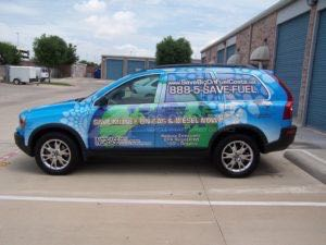 Car Wraps Suv Graphics Save Fuel Biofuel Volvo XC90
