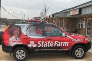 Car Wraps Suv Graphics State Farm Escape Honda CRV