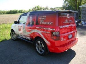 Car Wraps Suv Graphics State Farm Insurance Honda Element SFI VT
