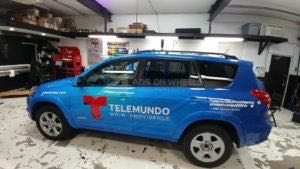 Car Wraps Suv Graphics Telemundo Toyota RAV4 ZGS2
