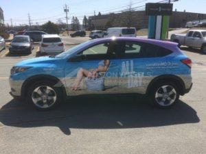Car Wraps Suv Graphics Travel Agency Honda HRV