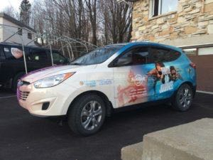 Car Wraps Suv Graphics Travel Agency Hyundai Tuscon VICL
