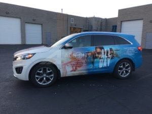 Car Wraps Suv Graphics Travel KIA Sorrento DHTD