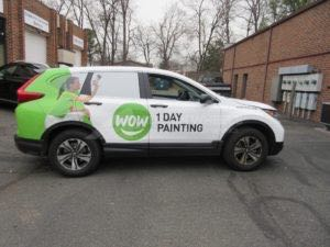 Car Wraps Suv Graphics WOW 1 Day Painting Honda CRV WOW1