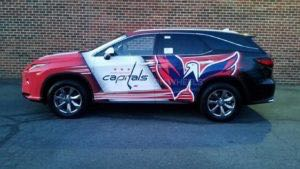 Car Wraps Suv Graphics Washington Capitals Lexus RXL TOL