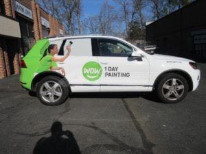 Car Wraps Suv Graphics Wow 1 Day Painting VW Toureg WOW2