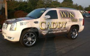 Car Wraps Suv Graphics Dealership Cadillac Escalade TWA 3
