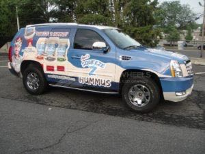 Car Wraps Suv Graphics Food Escalade ANA 5