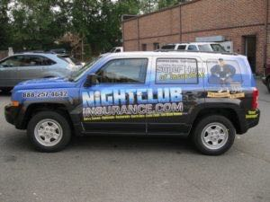 Car Wraps Suv Graphics Night Club Jeep Patriot