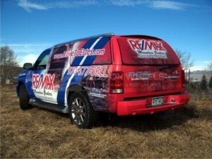Car Wraps Suv Graphics Real Estate Remax Cadillac Escalade RMH