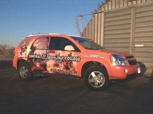 Car Wraps Suv Graphics University Chevy Equionox CWC 3