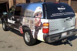 Car Wraps Suv Medcor Chevy Suburban MDC7