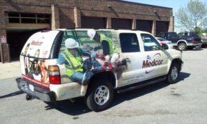 Car Wraps Suv Medcor Suburban MDC5