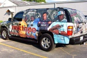 Car Wraps Suv Mixtape Chevy Suburban MIXT