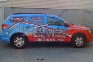 Car Wraps Suv Pinnacle Roofing Dodge Journey PSR