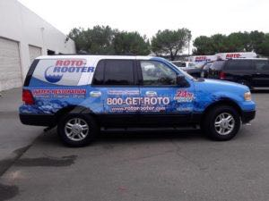 Car Wraps Suv Plumbing Roto Rooter Ford Expedition