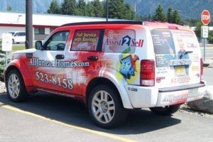Car Wraps Suv Real Estate Dodge Nitro A2