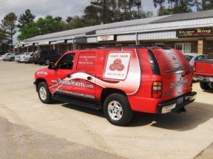 Car Wraps Suv State Farm Insurance Chevy Suburban SFI TW
