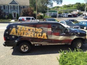 Car Wraps Suv Tattoo Ford Excursion