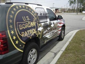 Car Wraps Suv Us Border Patrol Chevy Tahoe UBP3